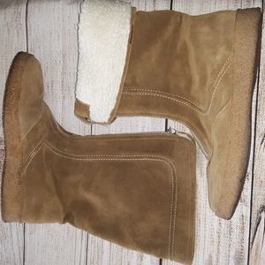 Michael Kors Suede leather and Shearling boots